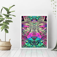 Diamond Painting Lion Special Shaped