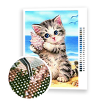 Diamond Painting Baby kitten