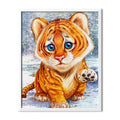 Tiger Cub Diamond Painting - 1