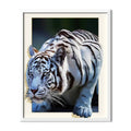 White Tiger Diamond Painting - 1