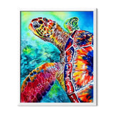 Mosaic Turtle Diamond Painting - 1