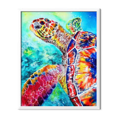 Diamond Painting Mosaic Turtle