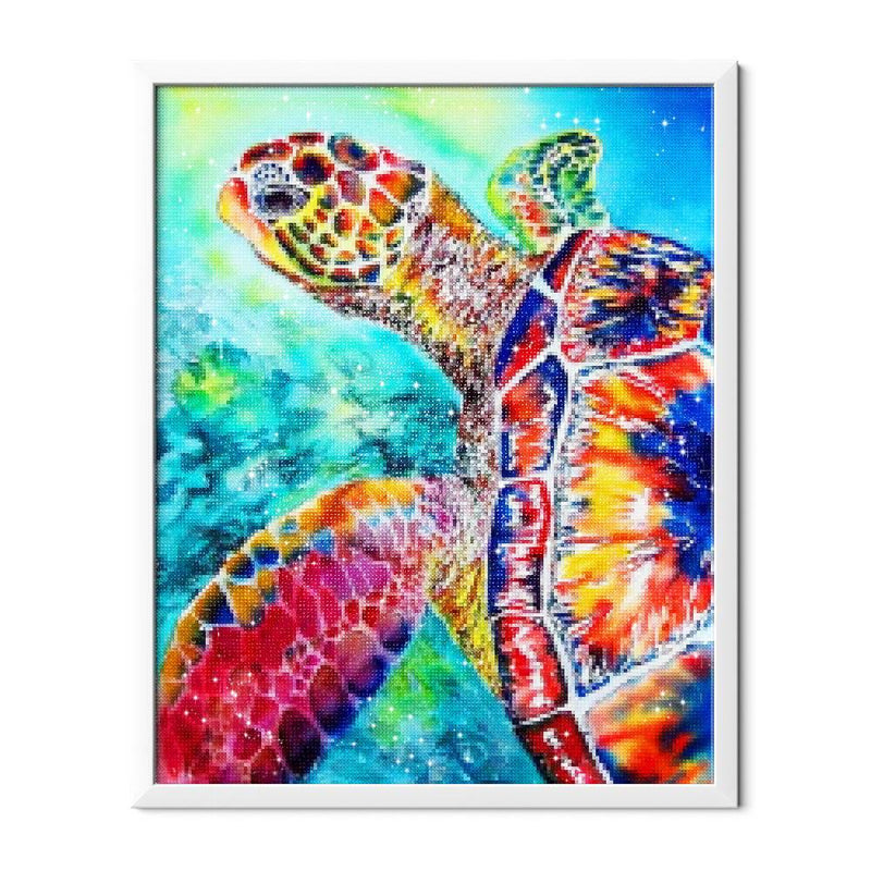 Mosaic Turtle Diamond Painting - 2