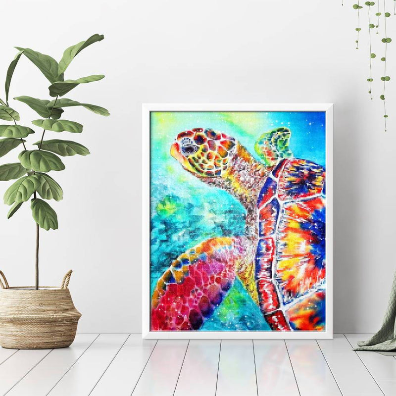 Mosaic Turtle Diamond Painting - 3