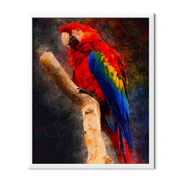 Macaw Parrot Diamond Painting - 1