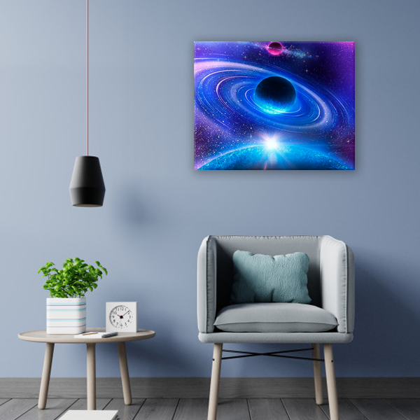 Diamond Painting Space world