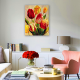 Diamond Painting Bouquet of tulips