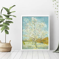Diamond Painting Pink Peach Tree