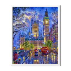 Diamond Painting London in the Night