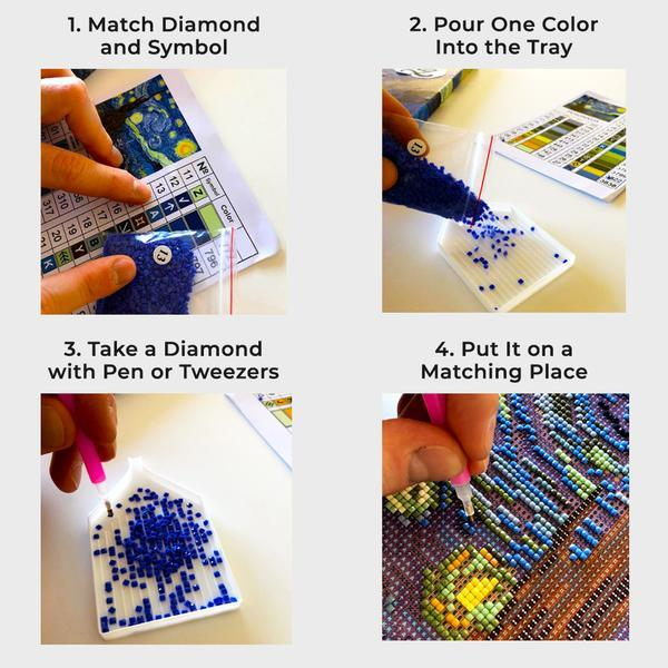 Diamond Painting Game blocks