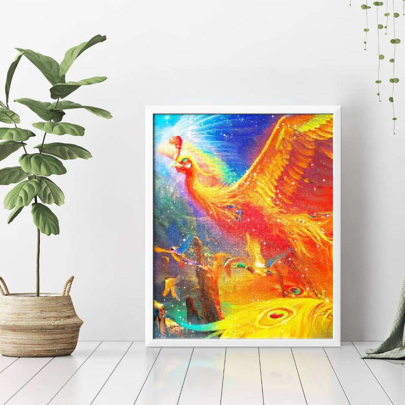 Flying Phoenix Diamond Painting - 3