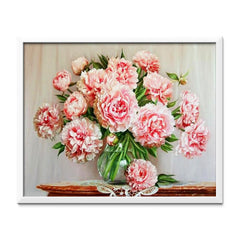 Diamond Painting Peonies