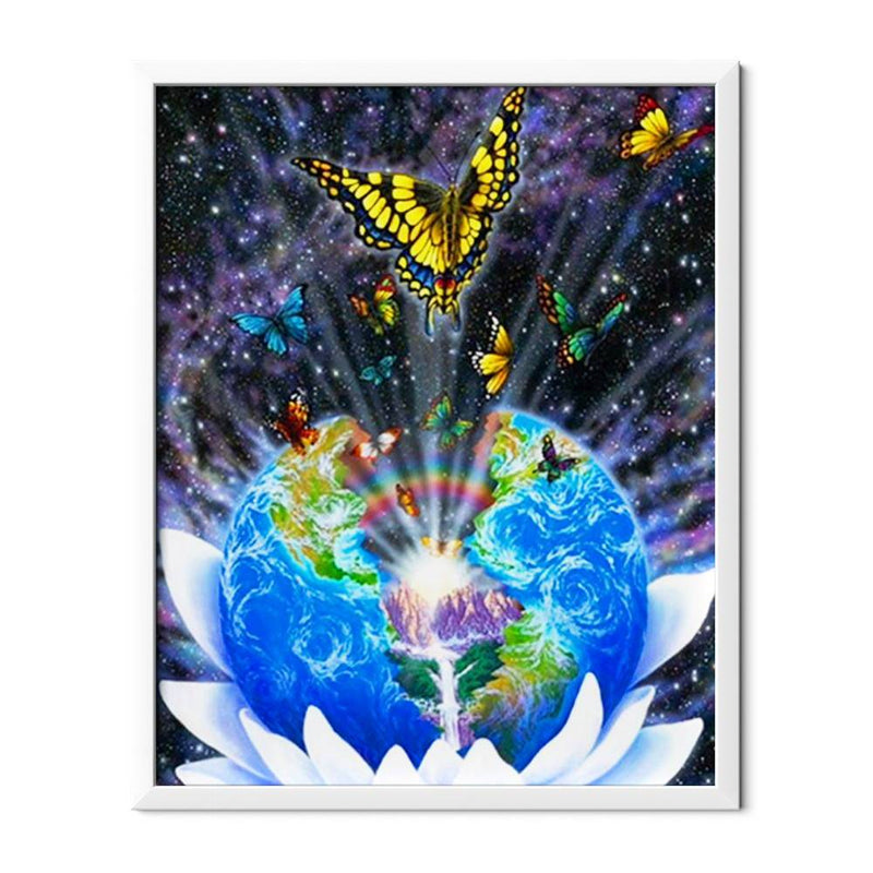 Global Butterfly Diamond Painting - 1