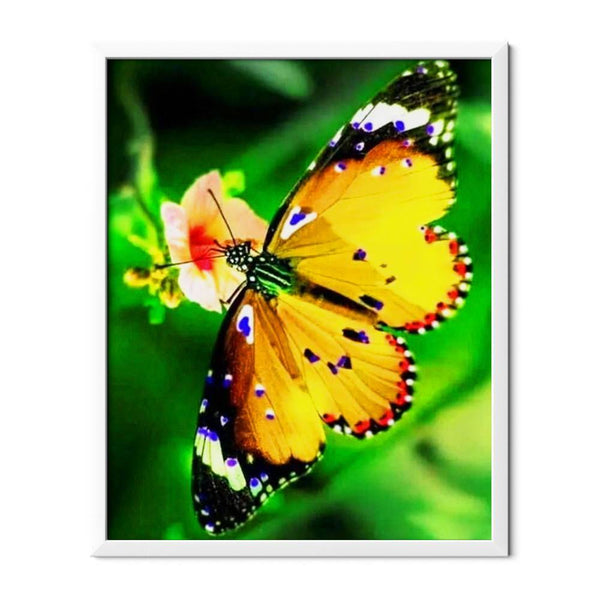 Yellow Butterfly Diamond Painting - 1