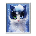 Cartoon Kitty Diamond Painting - 1