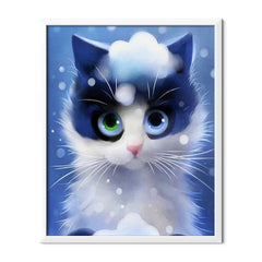 Diamond Painting Cartoon Kitty