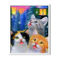 Cats In Winter Diamond Painting - 1