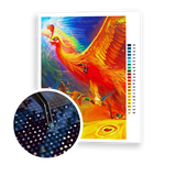Diamond Painting Flying Phoenix