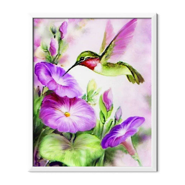 Hummingbird Diamond Painting - 1