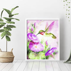 Diamond Painting Hummingbird