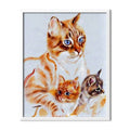 Red Cats Diamond Painting - 1
