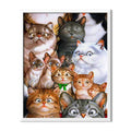 Surprised Cats Diamond Painting - 1