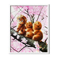 Three Cats Diamond Painting - 1