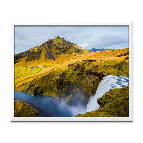 Waterfall in Iceland Diamond Painting - 1