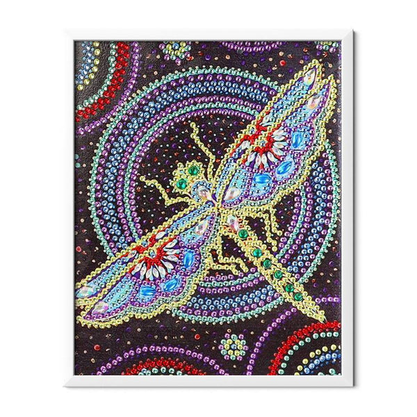 Crystal Dragonfly Diamond Painting - 1
