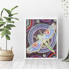 Diamond Painting Crystal Dragonfly