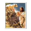 Jesus And Lamb Diamond Painting - 1