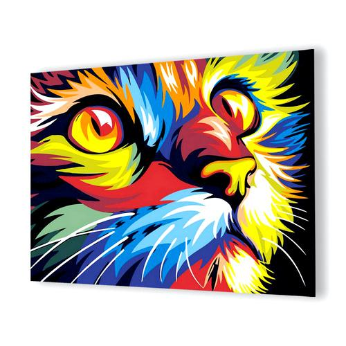 Colorful Cat Diamond Painting - 1
