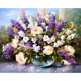 Diamond Painting Handmade bouquet