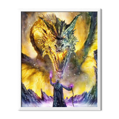 Diamond Painting Angry Dragon