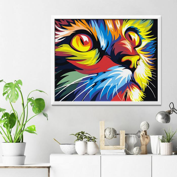 Colorful Cat Diamond Painting - 3