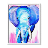 Blue Elephant Diamond Painting - 2