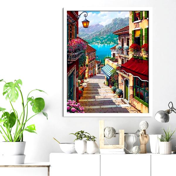 Mediterranean Town Diamond Painting - 3
