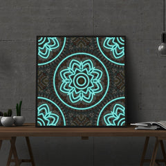 Diamond Painting Glowing mandala #10