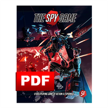Load image into Gallery viewer, The Spy Game: Core Rule Book PDF