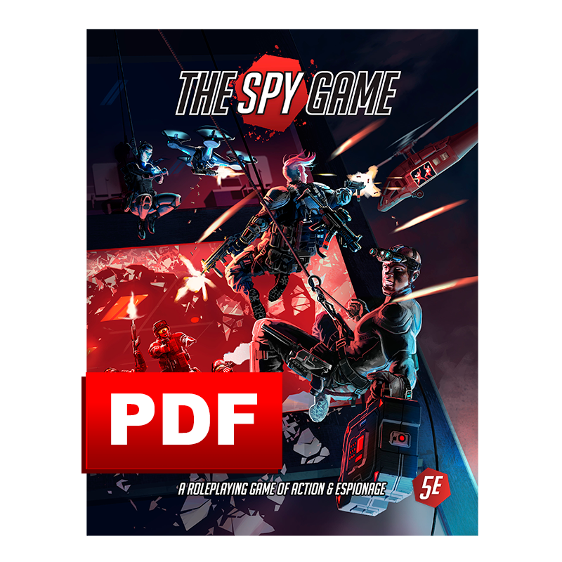The Spy Game: Core Rule Book PDF