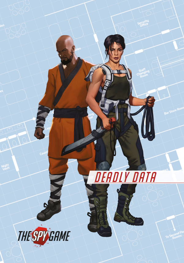 The Spy Game: PDF Mission Booklet 1 - Deadly Data