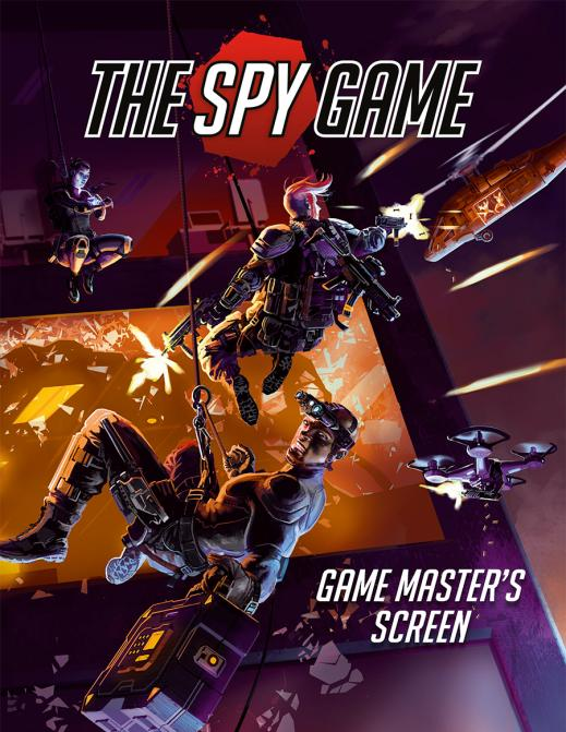 The Spy Game: PDF GM Screen and Booklet