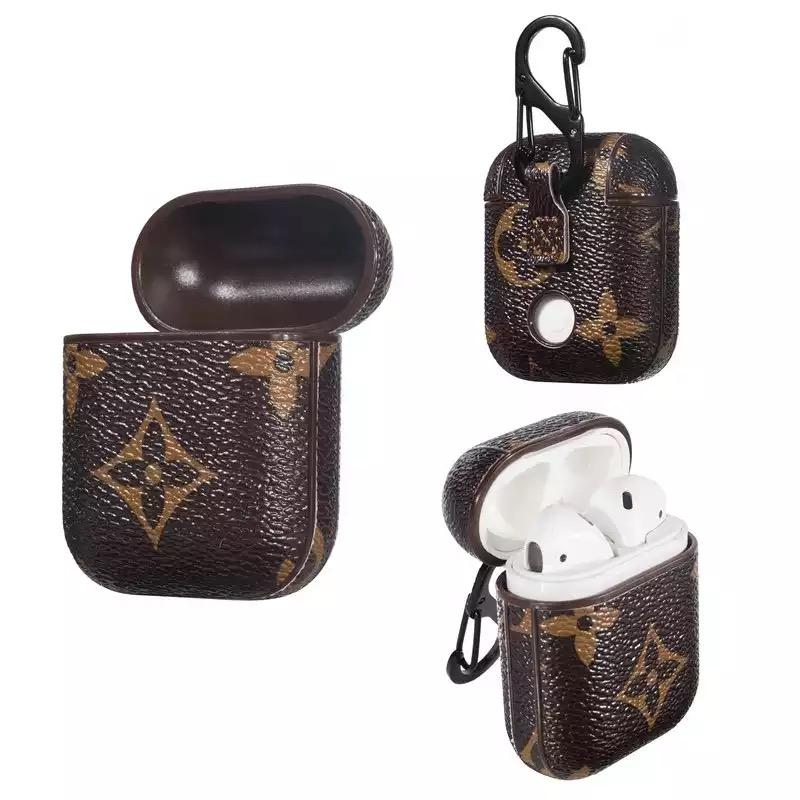 Leather LV AirPods Cases