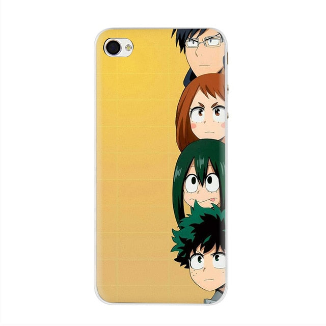 My hero academia Hard Phone Cover Case for iphone 5 5s SE 2020 5C 6 6s 7 8 Plus X XR XS 11 Pro Max
