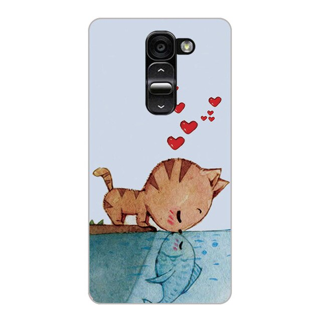 Phone Case For LG G2 D802 D805 D801 D800 D803 LS980 Case Cover soft silicone For LG G2 mini D618 D620 Cover