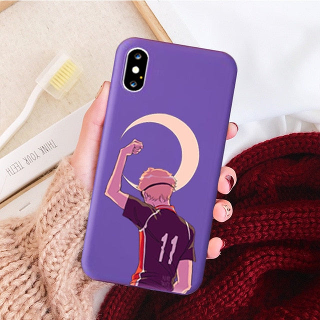 Anime Haikyuu Love Volleyball Silicone Phone Case for Iphone X XS MAX XR 11 Pro Max 6S Plus Soft Case for Iphone 7 8 Plus Cover