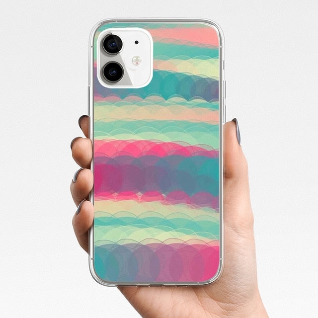 ciciber Phone Case For Iphone 11 Case For iPhone 11 Pro XR 7 X XS MAX 8 6 6S Plus 5 5S SE 2020 Silicone Funda Cute Pattern Cover