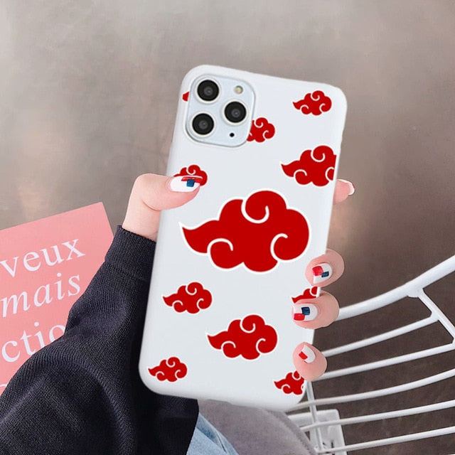 GYKZ Japan Anime Naruto Phone Case For iPhone 11 Pro XS MAX SE 2020 XR X 7 8 6Plus Soft Silicone Back Cover Cartoon Coque Fundas