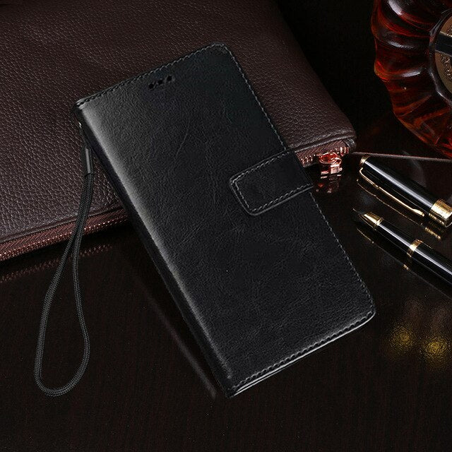 Accessories Flip Wallet Leather Case for BQ Aquaris V VS Plus U U2 Lite X5 Plus E5 E5S X X2 Pro C M4.5 M5.5 M5 M2017 Cover