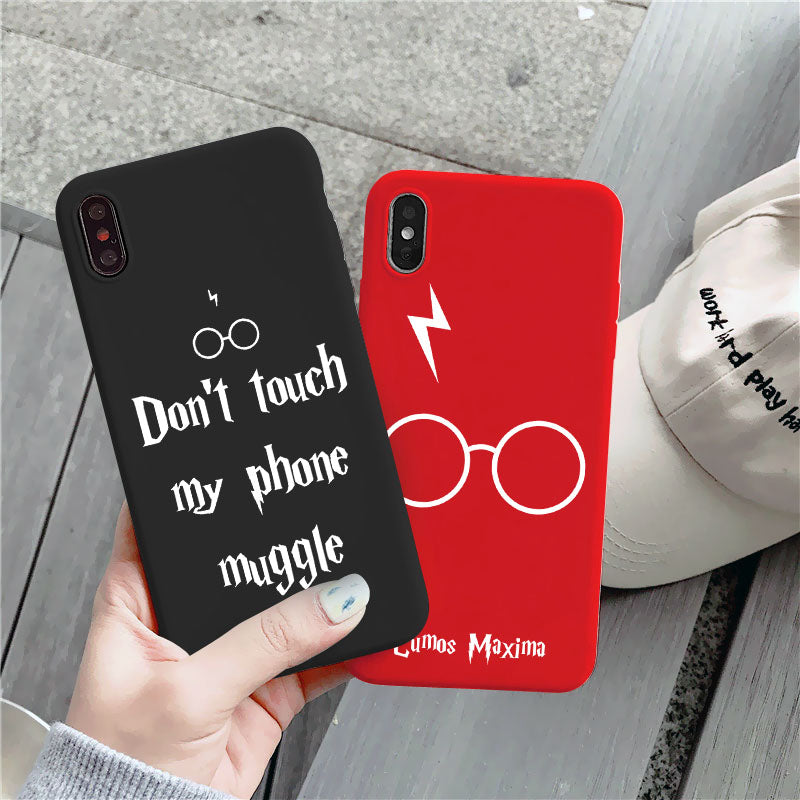 Art magic Potter Cartoon Phone Case For iPhone SE 2020 7 8 6 S Plus 11 Pro XR X S MAX Soft Silicone Shockproof TPU Cover Bag